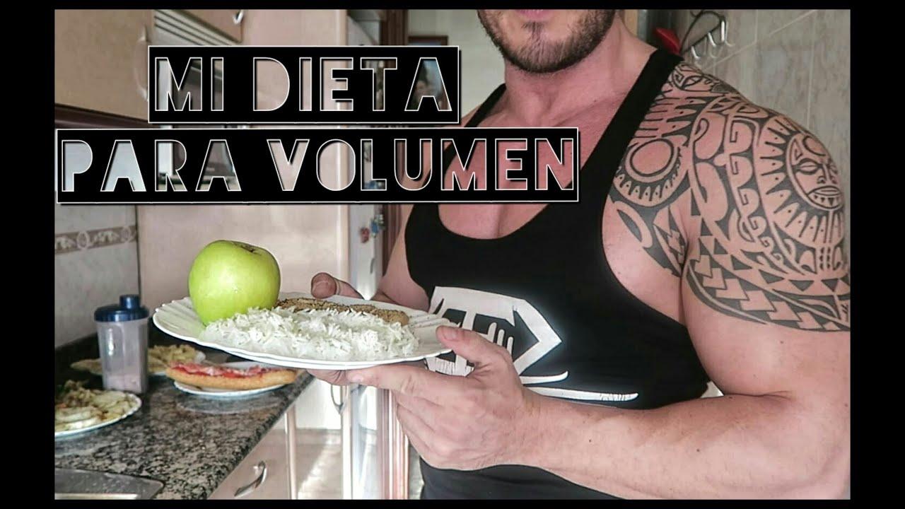 Dieta para volumen barata