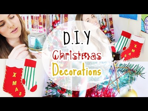 DIY Christmas Decorations Room Living Decor