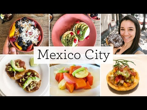 HEALTHY EATS IN MEXICO CITY 💃🏻vegan donuts, tacos & açai bowls