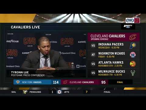 Tyronn Lue calls the Cleveland Cavaliers