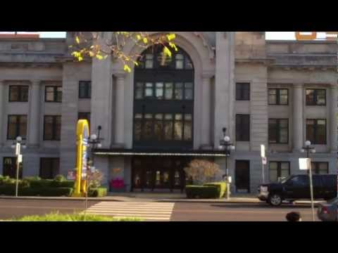 Vancouver Train Station-Pacific Central-Inside & Outside View-VIA
