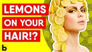 Pros And Cons Of Putting Lemon In Your Hair