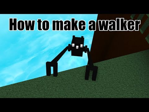 How To Make A Walker In Build A Boat For Treasure Roblox