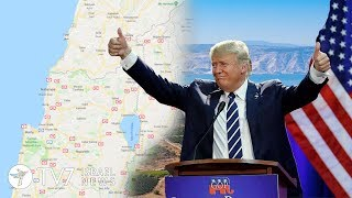 Israel to honor Trump over Golan recognition - TV7 Israel News 24.04.19
