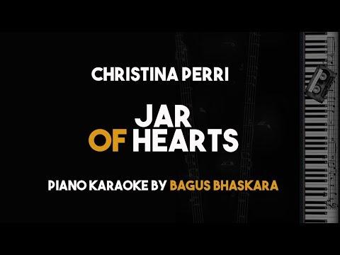 Jar Of hearts - Christina Perri (Piano Karaoke Backing Track with Lyrics on Screen)