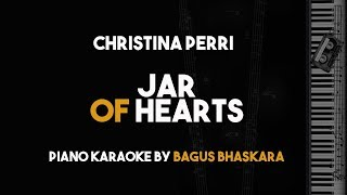Gambar cover Jar Of hearts - Christina Perri (Piano Karaoke Version)