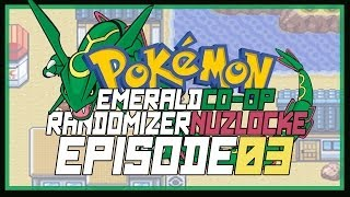 Pokemon Co-op Emerald Randomized Nuzlocke Part 3: Throwing my rod out
