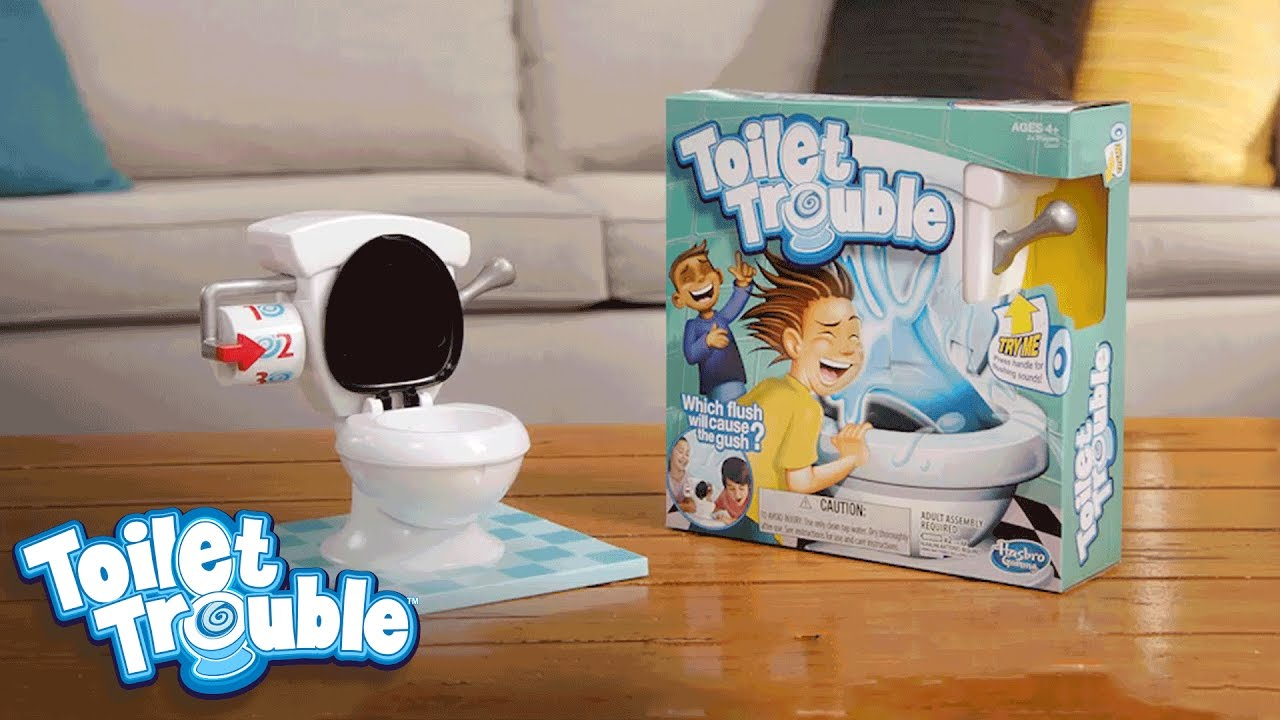 toilet trouble 39 face the flush 39 official tv commercial