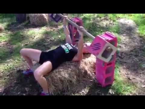 cinder-block-bench-press