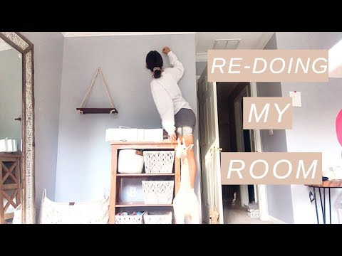 RE-DOING MY ROOM *transformation* 2019!