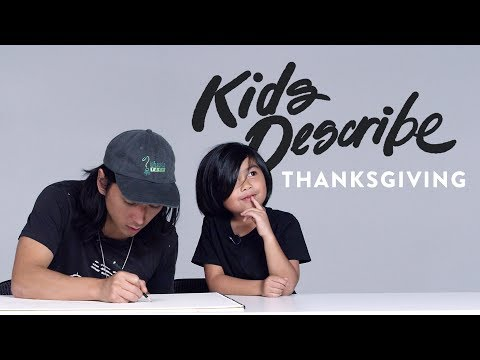 Kids Describe Thanksgiving | Kids Describe | HiHo Kids