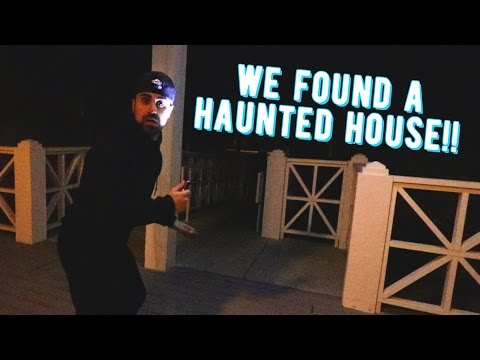 WE FOUND A HAUNTED HOUSE!!