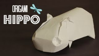 How To Make An Origami Hippo (jose Herrera)