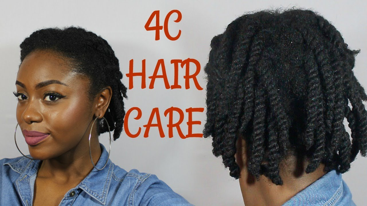 4 C Hairstyles: Twist & Style For Less Breakage - YouTube