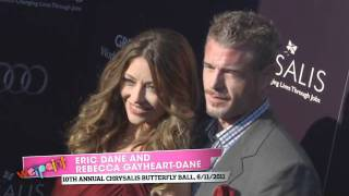 Eric Dane and Rebecca Gayheart at the 10th Annual Chrysalis Butterfly Ball