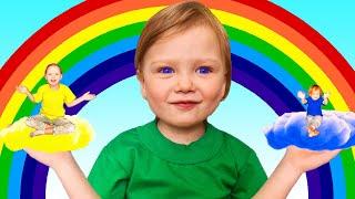 The colors song with Rainbow   동요와 아이 노래   어린이 교육   Olivia Kids Tube