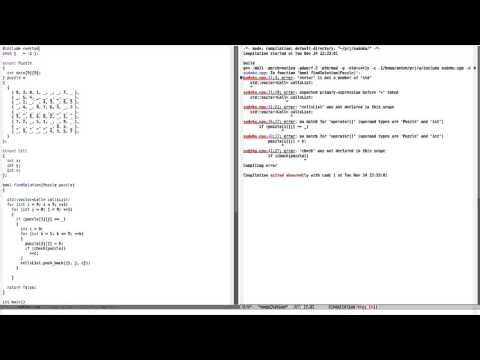 How to Solve Sudoku Using C++