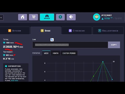 Rollercoin Buying Miners + RLT Passive Income + Full Explanation #PtcPat Playing With Profits DOGE