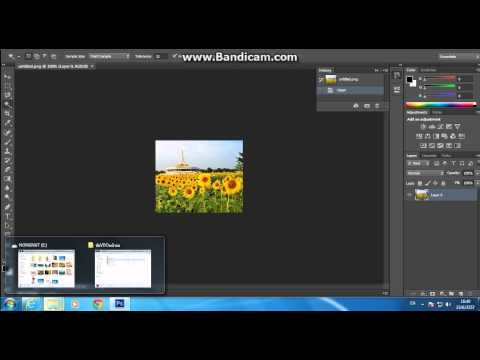 สอนการตัดภาพพื้นหลังโดยใช้โปรแกรม Adobe Photoshop CS6