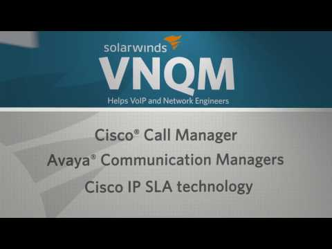 VoIP & Network Quality Manager Guided Tour