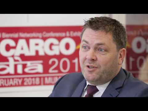 Steven Polmans, Head of Cargo, Brussels Airport Company, at Air Cargo Africa 2017