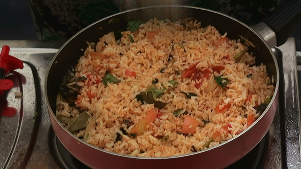 How To Prepare Red Chili Rice Indian Recipes