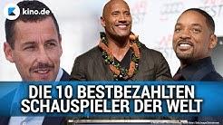 Die 10 bestbezahlten Schauspieler der Welt 2018