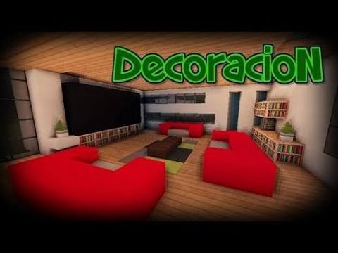 Television chimenea para minecraft pe for Ver como decorar una casa
