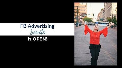 Facebook Advertising Secrets with Andrea Vahl