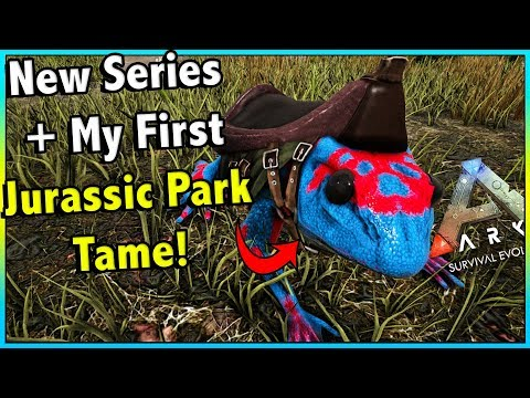 BRAND NEW MODDED SERIES WITH SO MANY NEW DINOSAURS AND THING!! || ARK MODDED EP 1!