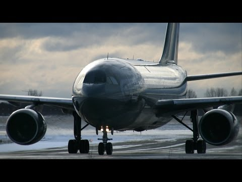 President & VIP Airplanes at COP15 in Copenhagen! (Archive footage)