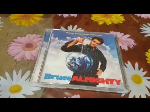 Download Jim Carrey Bruce Almighty SoundTrack CD Unboxing