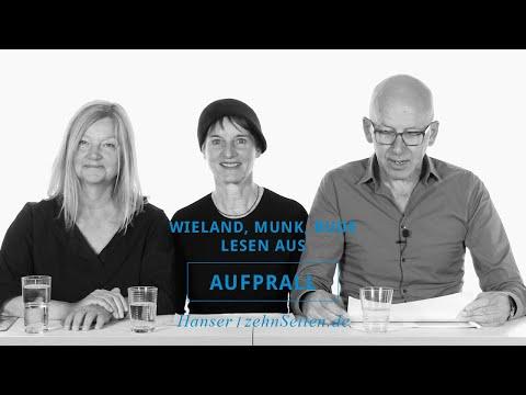 Karin Wieland, Bettina Munk und Heinz Bude lesen aus Aufprall