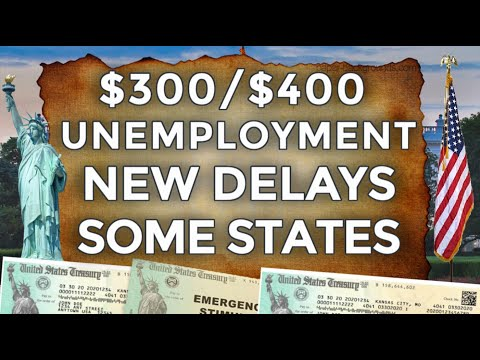 NEW POTENTIAL DELAYS!! $300 & $400 UNEMPLOYMENT BENEFITS EXTENSION LWA PUA FRAUD | STIMULUS UPDATE