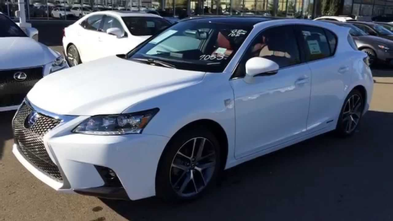 Ct200h F Sport >> 2015 Lexus CT 200h Hybrid F Sport Navigation Walk Around Review Canada - YouTube