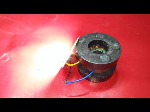 how to make magnet free energy generator