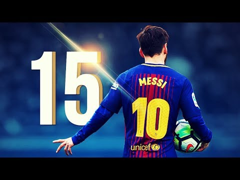 15 Wonderful Goals by Lionel Messi in 2017/2018 HD
