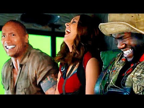 jumanji-2-bloopers-and-hilarious-footage-on-set