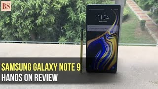 Samsung Galaxy Note 9:  Quick Hands-on