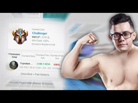 I Challenged The #1 Tryndamere To A $2500 Bet (Rank 1 Challenger Race)