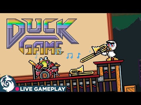 DUCK GAME!!!!!!!!!!! - Nintendo Switch Gameplay Livestream