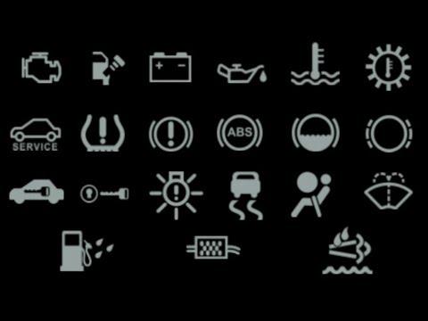 Toyota Warning Lights