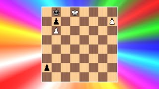 Tricky Queen Triangulation | Cool Chess Puzzle #8 (D. Joseph)