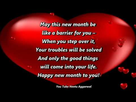 Happy New Month Blessings Prayers Wishesquotessmsgreetings