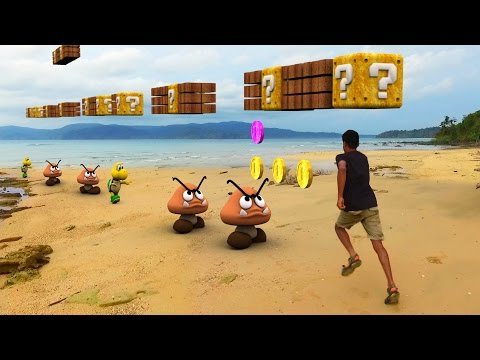 Super Mario Run In Real Life