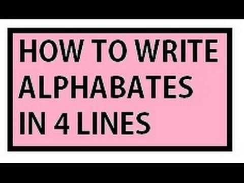 how do you write 4