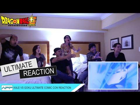 Kale vs Goku Ultimate Comic Con Reaction and Discussion with Robot Underdog DBS 100