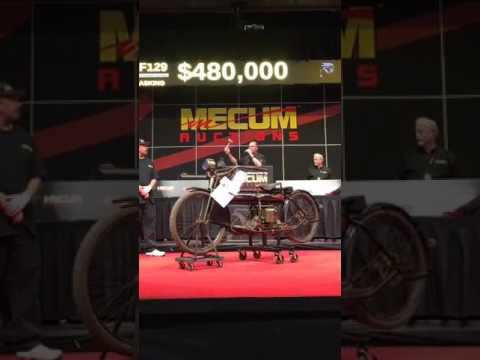 1912 Henderson Motorcycle, Unrestored