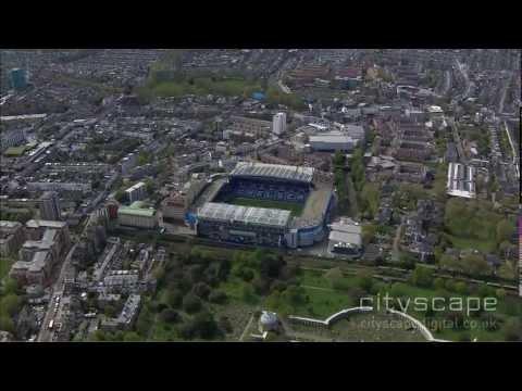 Stamford Bridge - Aerial HD Footage