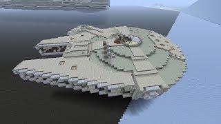 Minecraft Tutorial (Star Wars Edition): Millennium Falcon